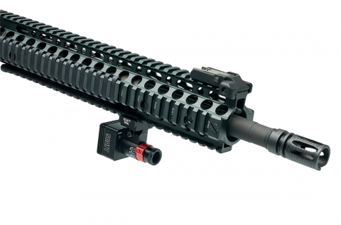 SCATT MX-W2 on AR-15 rifle