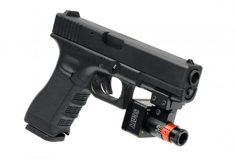 SCATT MX-W2 on GLOCK Pistol