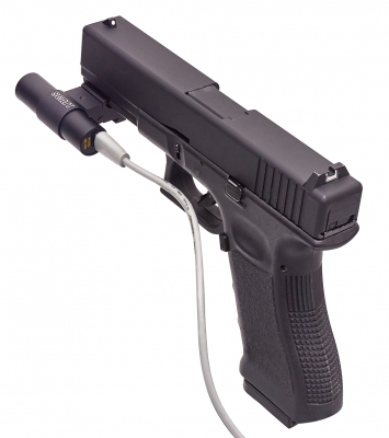 SCATT OS-02 optical sensor on GLOCK pistol