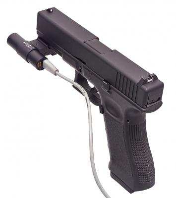 SCATT OS-02 optical sensor on GLOCK pistol